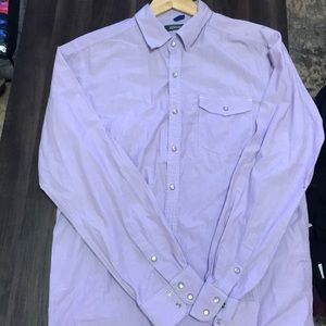 Kenneth Cole button down shirt for men.